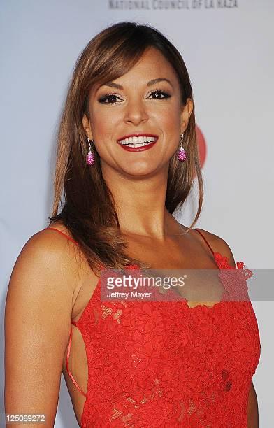 Eva La Rue attends the 2011 NCR ALMA Awards at Santa Monica Civic Auditorium on September 10 2011 in Santa Monica California
