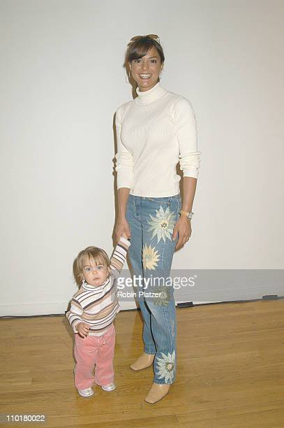 Eva La Rue Callahan & daughter Kaya during Children's Day Artrageous Hosted by The Edwin Gould Foundation at The Metropolitan Pavillion in New York...