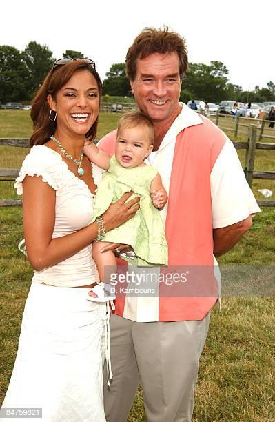 Eva La Rue daughter Kaya and husband John Callahan