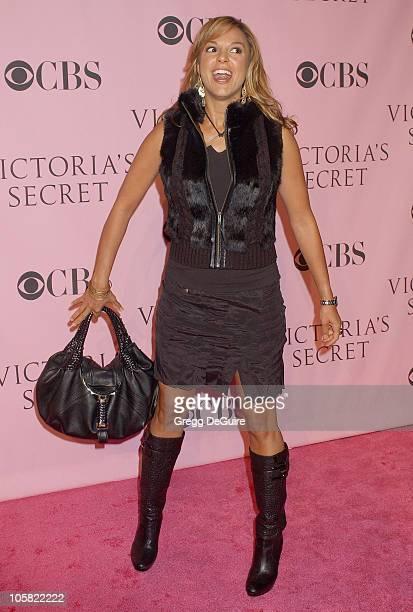Eva La Rue during 11th Victoria's Secret Fashion Show Arrivals at Kodak Theatre in Hollywood California United States