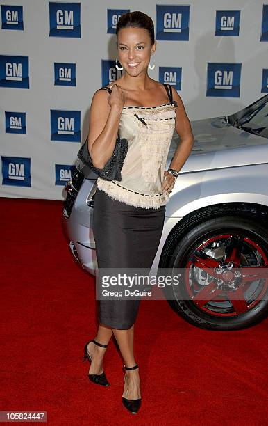 Eva La Rue during 6th Annual GM Ten Arrivals at Paramount Studios in Hollywood CA United States