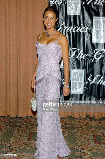 Eva La Rue during American Women in Radio & Television 29th Annual Gracie Allen Awards - Arrivals at Hilton Hotel in New York City, New York, United...