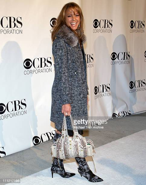 Eva La Rue during CBS Television 2006 TCA Winter Party Arrivals at The Wind Tunnel in Pasadena California United States