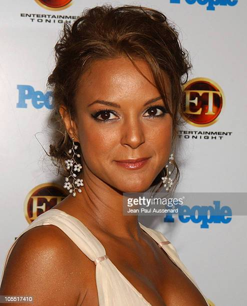 Eva La Rue during Entertainment Tonight and People Magazine Celebrate The 57th Annual Emmy Awards at Mondrian in West Hollywood California United...