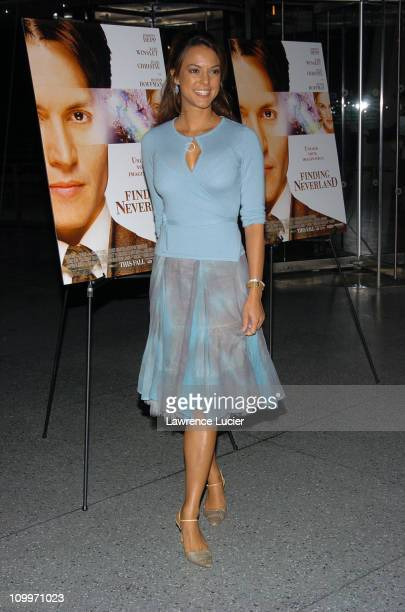 Eva La Rue during New York Premiere of Finding Neverland at Brooklyn Museum of Art in New York City New York United States