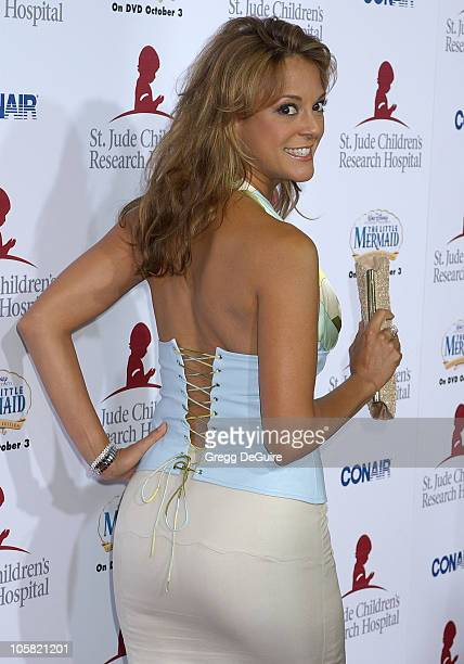Eva La Rue during Runway For Life Benefiting St Jude Children's Research Hospital Sponsored by Disney's The Little Mermaid DVD and The Conair...