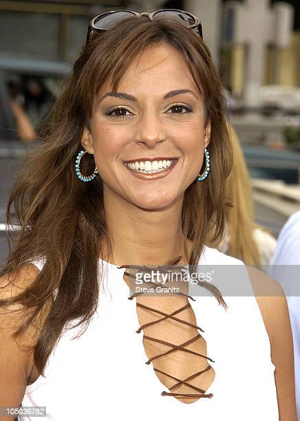 Eva La Rue during ScoobyDoo Premiere at Grauman's Chinese Theater in Hollywood California United States