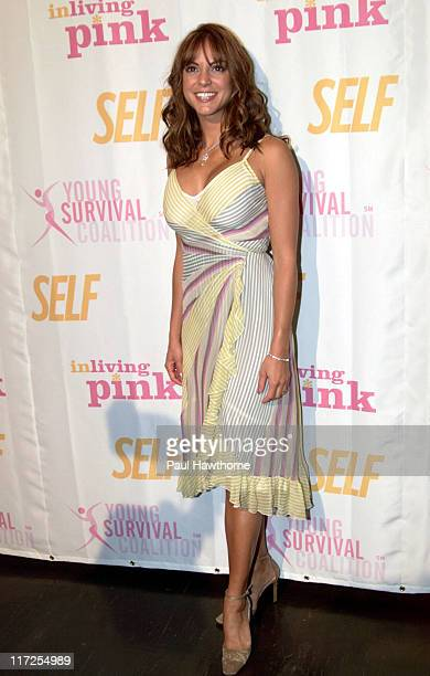 Eva La Rue during The Young Survival Coalition's 5th Anniversary Celebration Presented by Self Magazine at Angel Orensanz Foundation in New York...