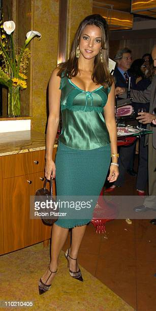 Eva La Rue of All My Children during The Reopening of San Domenico Restaurant at San Domenico Restaurant in New York New York United States