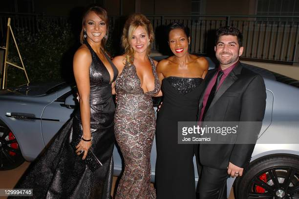 Eva La Rue Renetta Caya Regina King and Oday Shakar arrives at Beckstrand Cancer Foundation's 8th Annual Diamond Pearl Ball at The Balboa Bay Club...