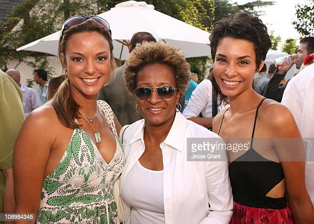 Eva La Rue Wanda Sykes and Lara La Rue during 9th Annual GLAAD Cocktail Party Absolut Hancock Park at Private Residence in Los Angeles California...