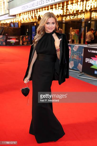 Eva Lanska attends the BFI London Film Festival Opening Gala on October 02, 2019 in London, England.