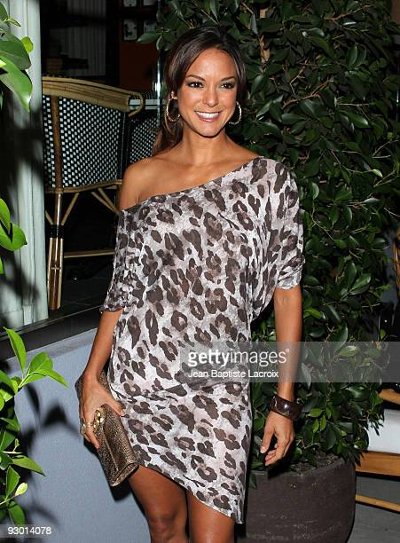 Eva LaRue arrives at TV GUIDE Magazine's Hot List Party at SLS Hotel on November 10 2009 in Beverly Hills California