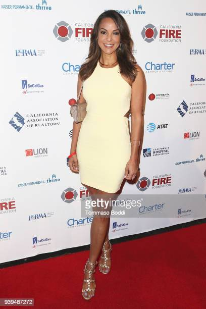 Eva LaRue attends the California Fire Foundation's 5th Annual Gala at Avalon on March 28 2018 in Hollywood California