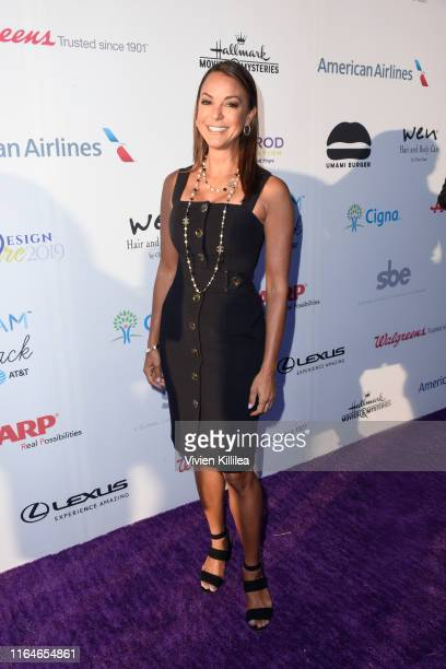 Eva LaRue attends the HollyRod Foundation's 21st Annual DesignCare Gala on July 27 2019 in Malibu California
