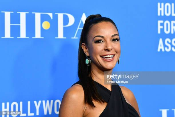 Eva LaRue attends the Hollywood Foreign Press Association's Grants Banquet at The Beverly Hilton Hotel on August 9 2018 in Beverly Hills California