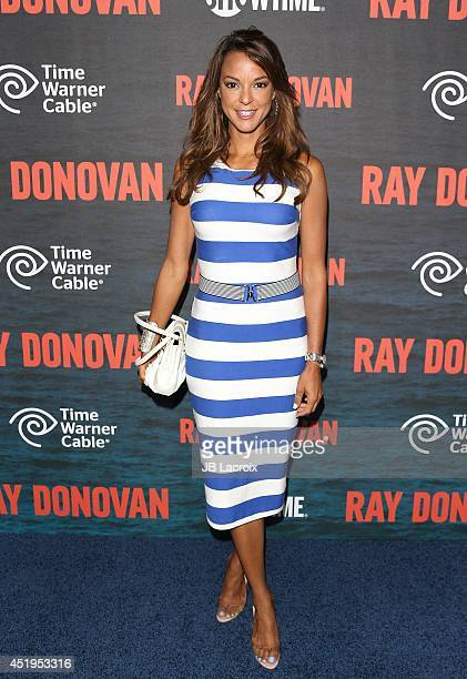 Eva LaRue attends the Season 2 Premiere Of Showtime's 'Ray Donovan' at Nobu Malibu on July 9 2014 in Malibu California