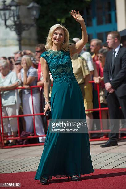 Eva Lind attends the Bayreuth Festival Opening 2014 on July 25 2014 in Bayreuth Germany