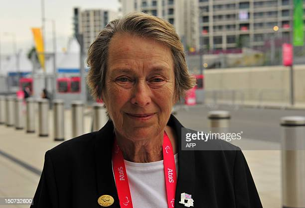 Eva Loeffler Mayor of the Paralympic Village and daughter of Ludwig Guttmann the German neurosurgeon who inspired the creation of the Paralympic...