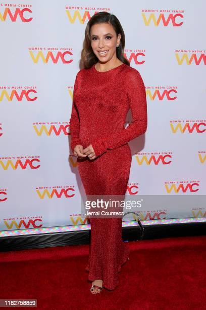 Eva Longoria, 2019 Honoree WMC Solidary Award, attends the 2019 Women's Media Awards at Mandarin Oriental on October 22, 2019 in New York City.