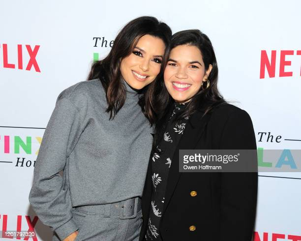 Eva Longoria and America Ferrera attend The Latinx House And Netflix Host Their Joint Kickoff Party At The 2020 Sundance Film Festival on January 24...