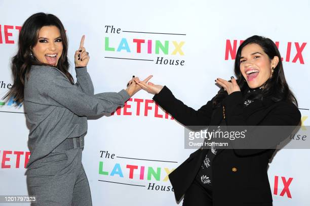 Eva Longoria and America Ferrera attend The Latinx House And Netflix Host Their Joint Kick-off Party At The 2020 Sundance Film Festival on January...
