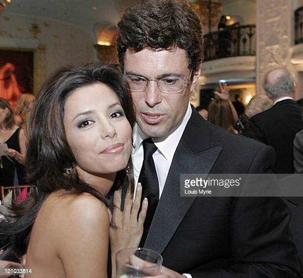 Eva Longoria and Carlos Bernard during National Hispanic Foundation for the Arts Event September 13 2005 at Mayflower Hotel in Washington DC District...