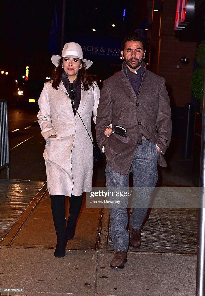 Celebrity Sightings In New York City - November 25, 2015