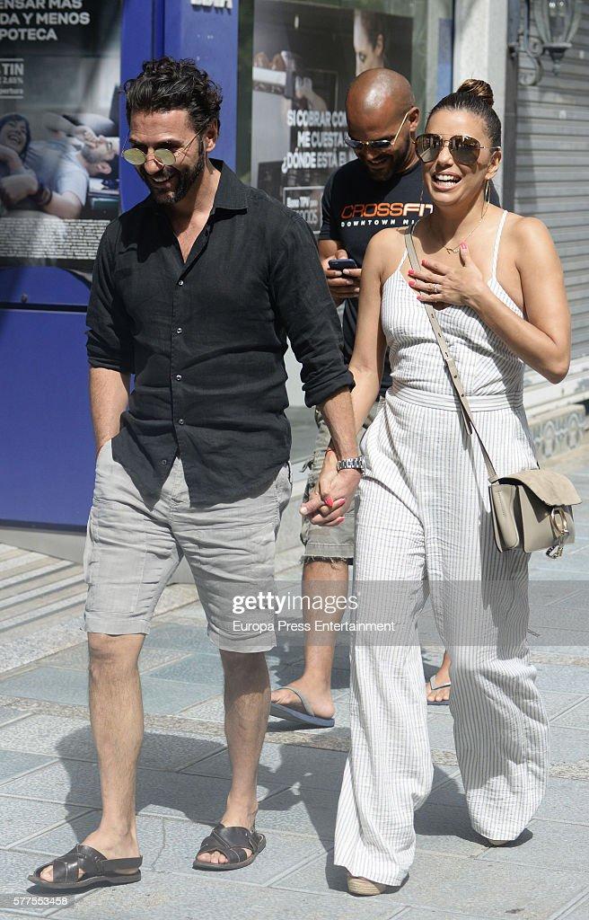 Eva Longoria and Jose Baston Sighting In Marbella - July 19, 2016