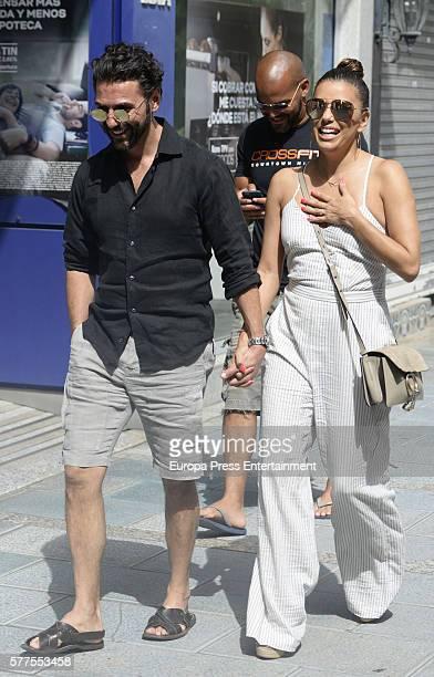 Eva Longoria and Jose Baston are seen on July 18 2016 in Marbella Spain