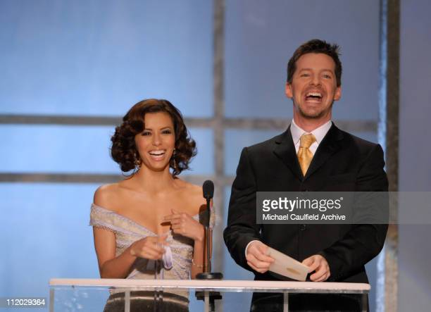 Eva Longoria and Sean Hayes presenters of Outstanding Performance by a Female Actor in a Drama Series 1067_mc0023JPG