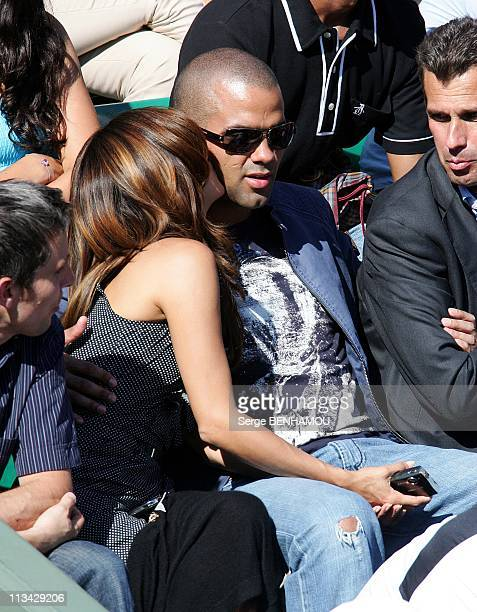 Eva Longoria And Tony Parker At 2009 Roland Garros Tournament In Paris France On May 29 2009 Eva Longoria and Tony Parker