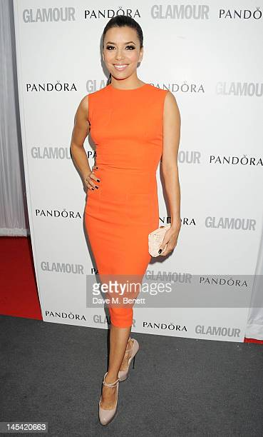 Eva Longoria arrives at the Glamour Women of the Year Awards in association with Pandora at Berkeley Square Gardens on May 29 2012 in London England