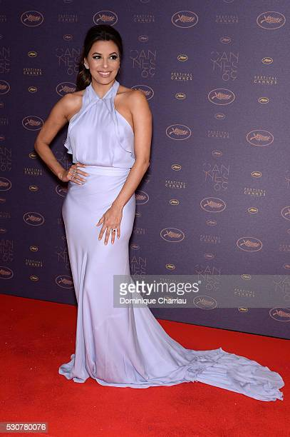 Eva Longoria arrives at the Opening Gala Dinner during The 69th Annual Cannes Film Festival on May 11 2016 in Cannes France