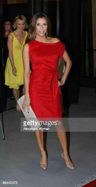 """Eva Longoria at Film Independent's special screening of """"Phoebe In Wonderland"""" at the WGA Theatre on March 1, 2009 in Beverly Hills, California."""