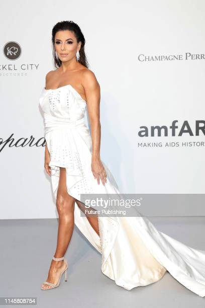 Eva Longoria at the amfAR Cannes Gala 2019 at Hotel du CapEdenRoc on May 23 2019 in Cap d'Antibes France