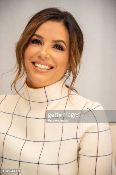 Eva Longoria at the Dora And The Lost City Of Gold Press Conference at the Beverly Wilshire Hotel on August 01 2019 in Beverly Hills California