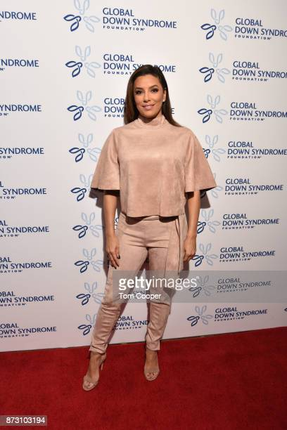 Eva Longoria at the Global Down Syndrome Foundation's 9th annual Be Beautiful Be Yourself Fashion Show at Sheraton Denver Downtown Hotel on November...