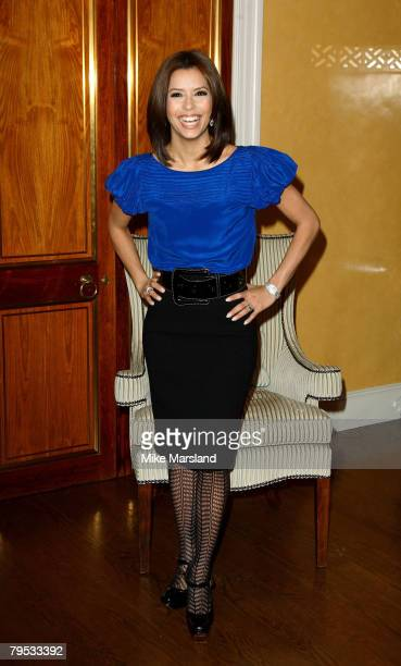 Eva Longoria at the photocall of 'Over Her Dead Body'at Claridges in London on the January 24 2008 in London England