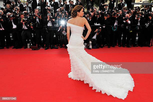 Eva Longoria at the premiere of Robin Hood during the 63rd Cannes International Film Festival