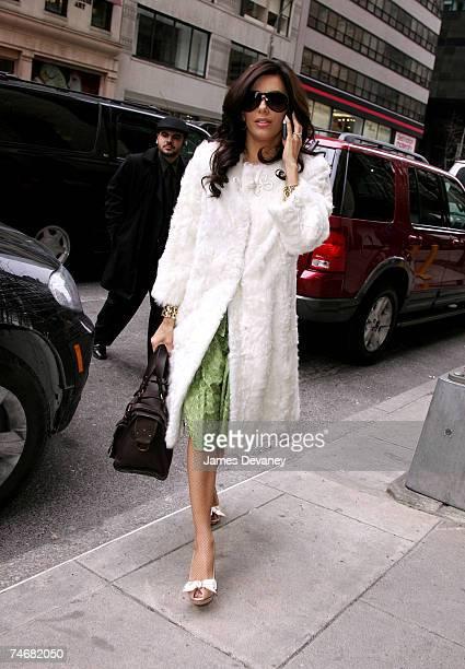 Eva Longoria at the Streets of Manhattan in New York City, New York