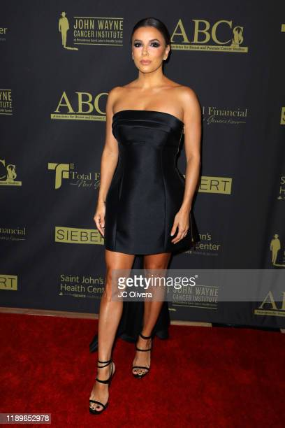 Eva Longoria attends ABC's 30th Anniversary Talk Of The Town Gala at The Beverly Hilton Hotel on November 23 2019 in Beverly Hills California