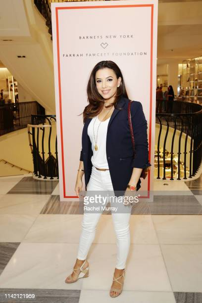 Eva Longoria attends Barneys New York Hosts A Cocktail Party In Support Of The Farrah Fawcett Foundation at Barneys New York Beverly Hills on April...