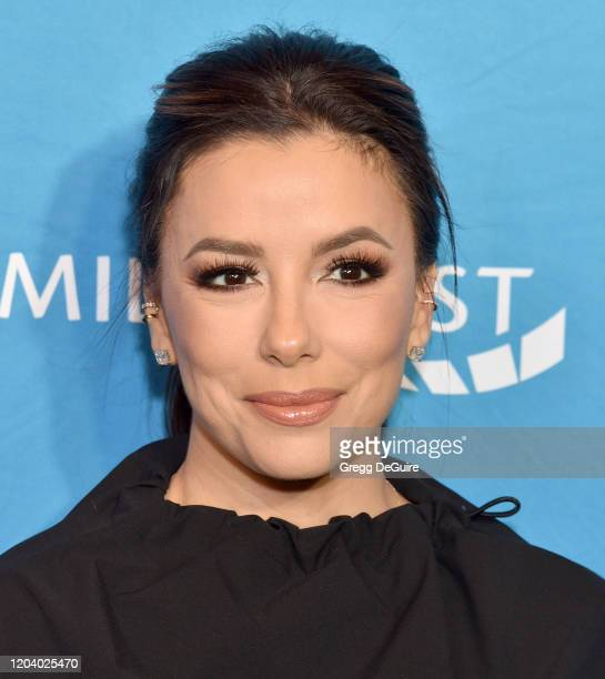 Eva Longoria attends EMILY's List 3rd Annual Pre-Oscars Event at Four Seasons Hotel Los Angeles at Beverly Hills on February 04, 2020 in Los Angeles,...