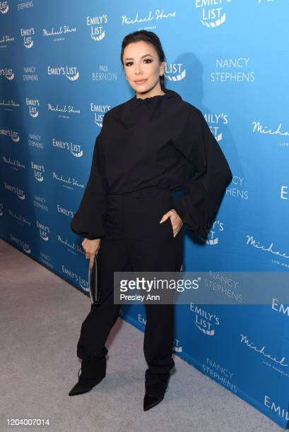 """Eva Longoria attends EMILY's List Brunch and Panel Discussion """"Defining Women"""" at Four Seasons Hotel Los Angeles at Beverly Hills on February 04,..."""