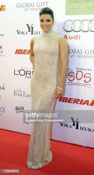 Eva Longoria attends Global Gift Gala 2013 at Gran Melia Don Pepe Hotel on August 4 2013 in Marbella Spain