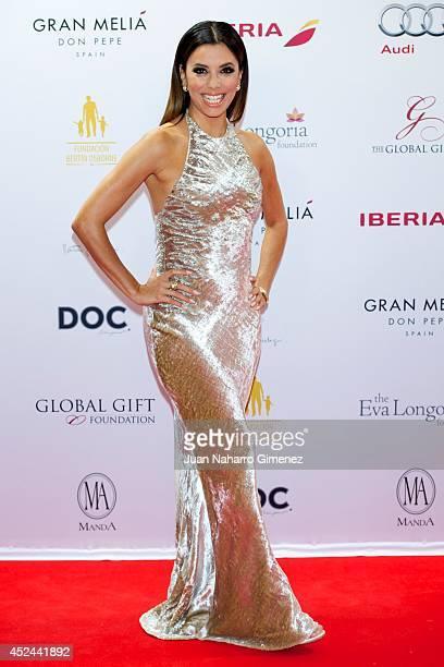 Eva Longoria attends Global Gift Gala 2014 at Melia Don Pepe Hotel on July 20 2014 in Marbella Spain