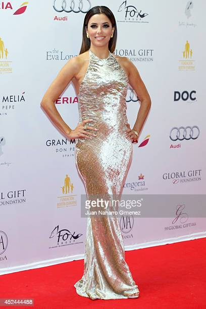 Eva Longoria attends Global Gift Gala 2014 at Melia Don Pepe Hotel on July 20 2014 in Marbella Spain