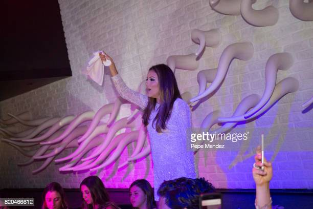 Eva Longoria attends Global Gift Gala Party on July 21 2017 in Ibiza Spain
