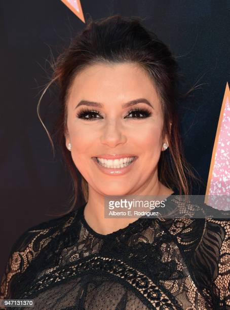 Eva Longoria attends her Hollywood Star Ceremony PostLuncheon on April 16 2018 in Beverly Hills California